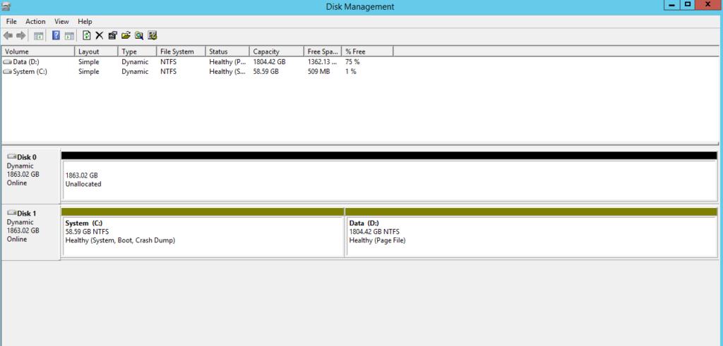 Rebuild SoftRAID When SDA Has Been Replaced (Windows